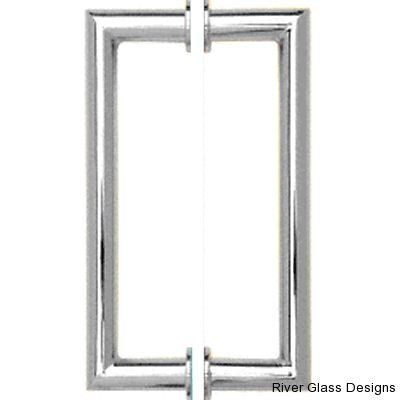 A Mitered Handle Will Add Elegant Appeal To Your Frameless Glass