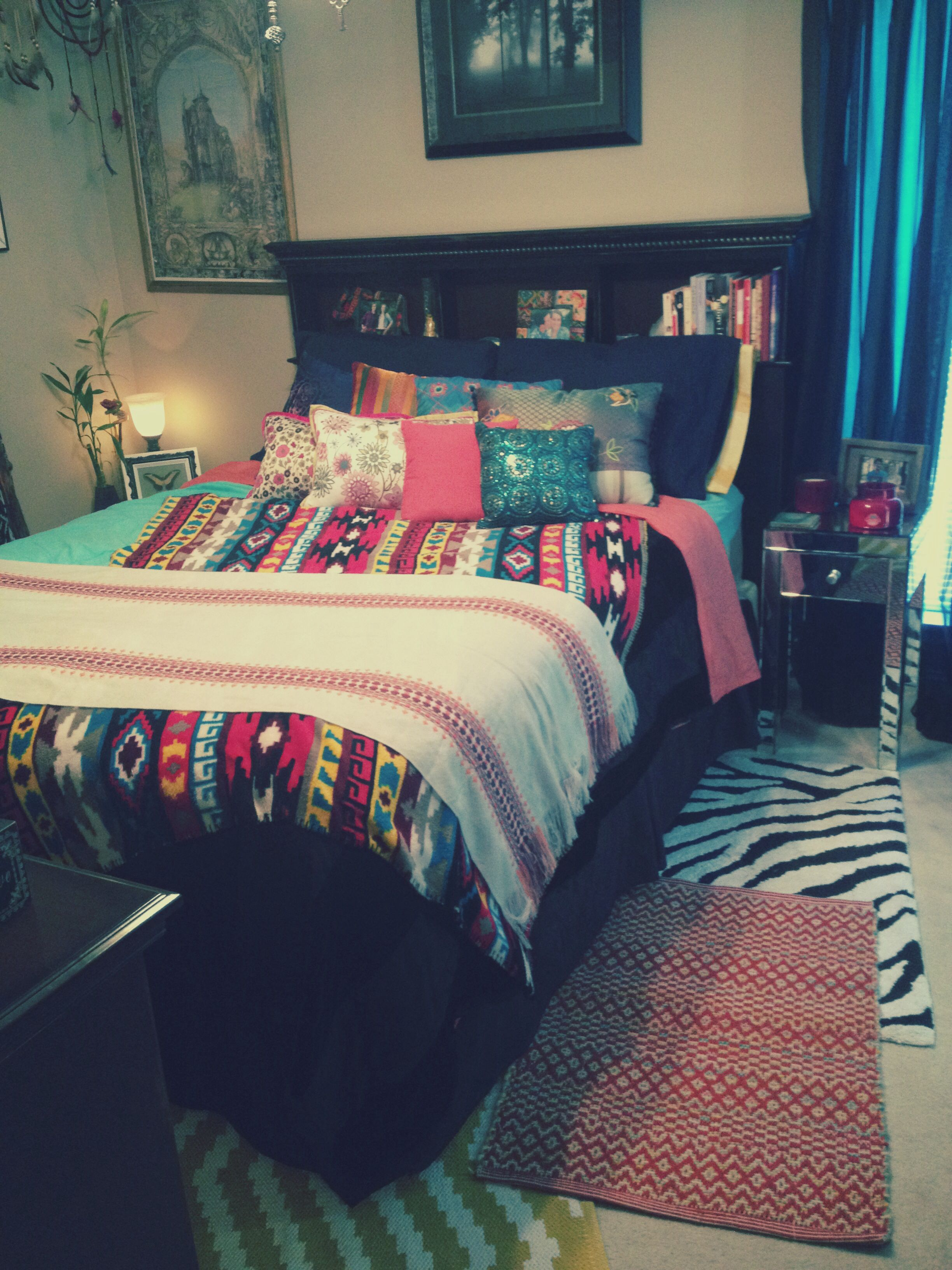 My Boho Bedroom! | Apartment style, Apartment chic, Home ...