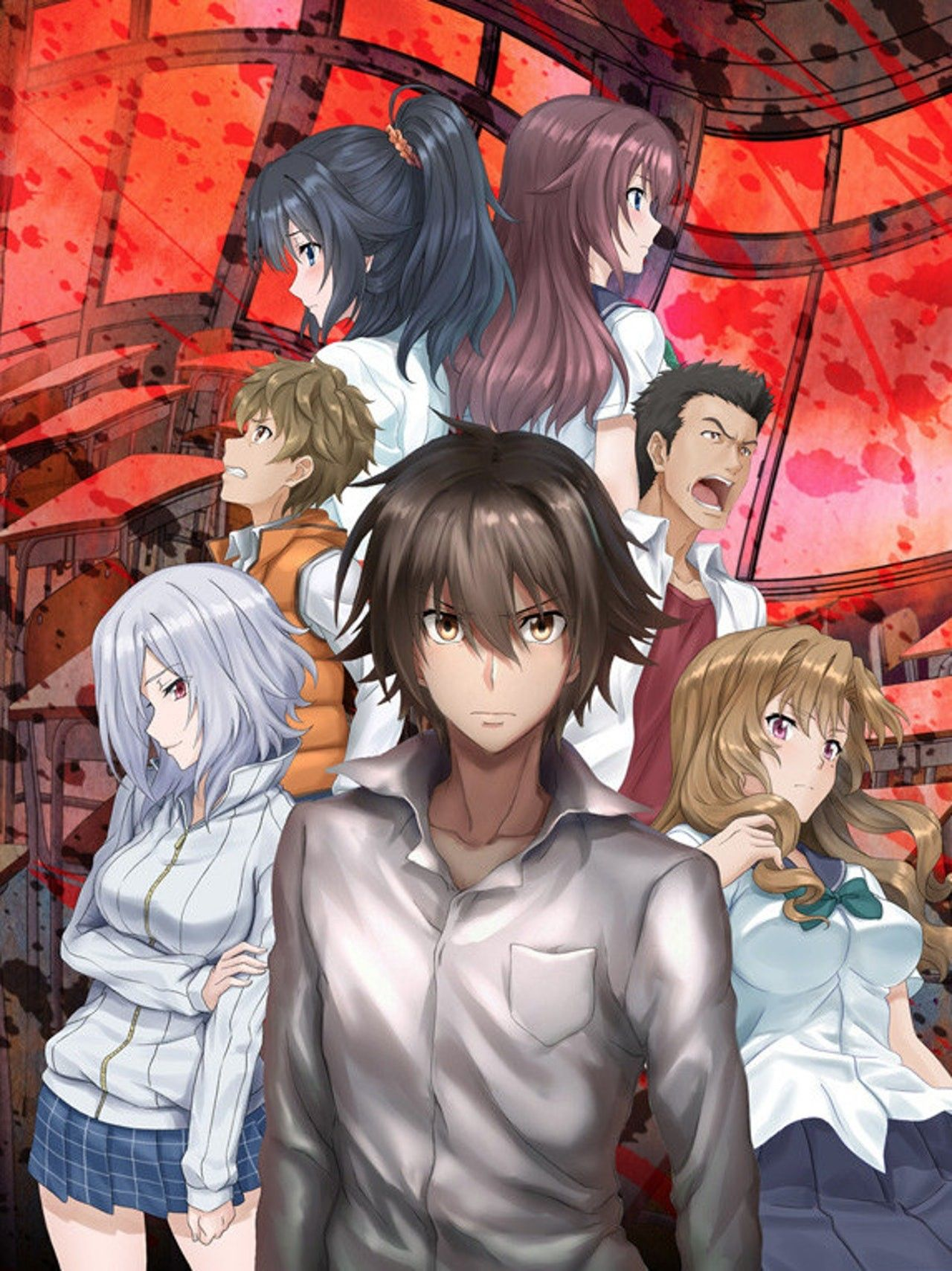 Ousama game Anime king, Kings game, Animation