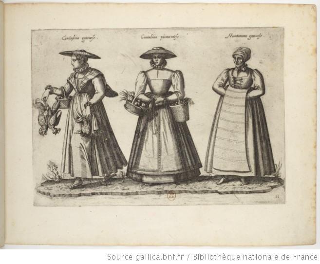 Recueil De Costumes Etrangers Par J J Boissard Europeana Costume Estampes