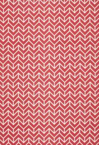Pink chevron fabric.