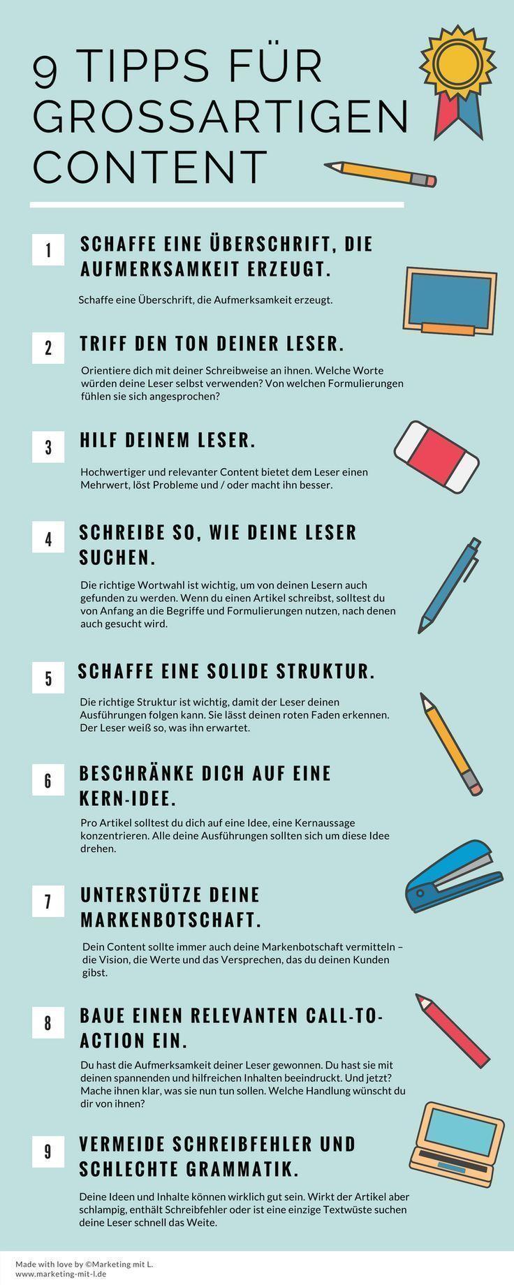 Effektiver schreiben: 9 Tipps für großartigen Content