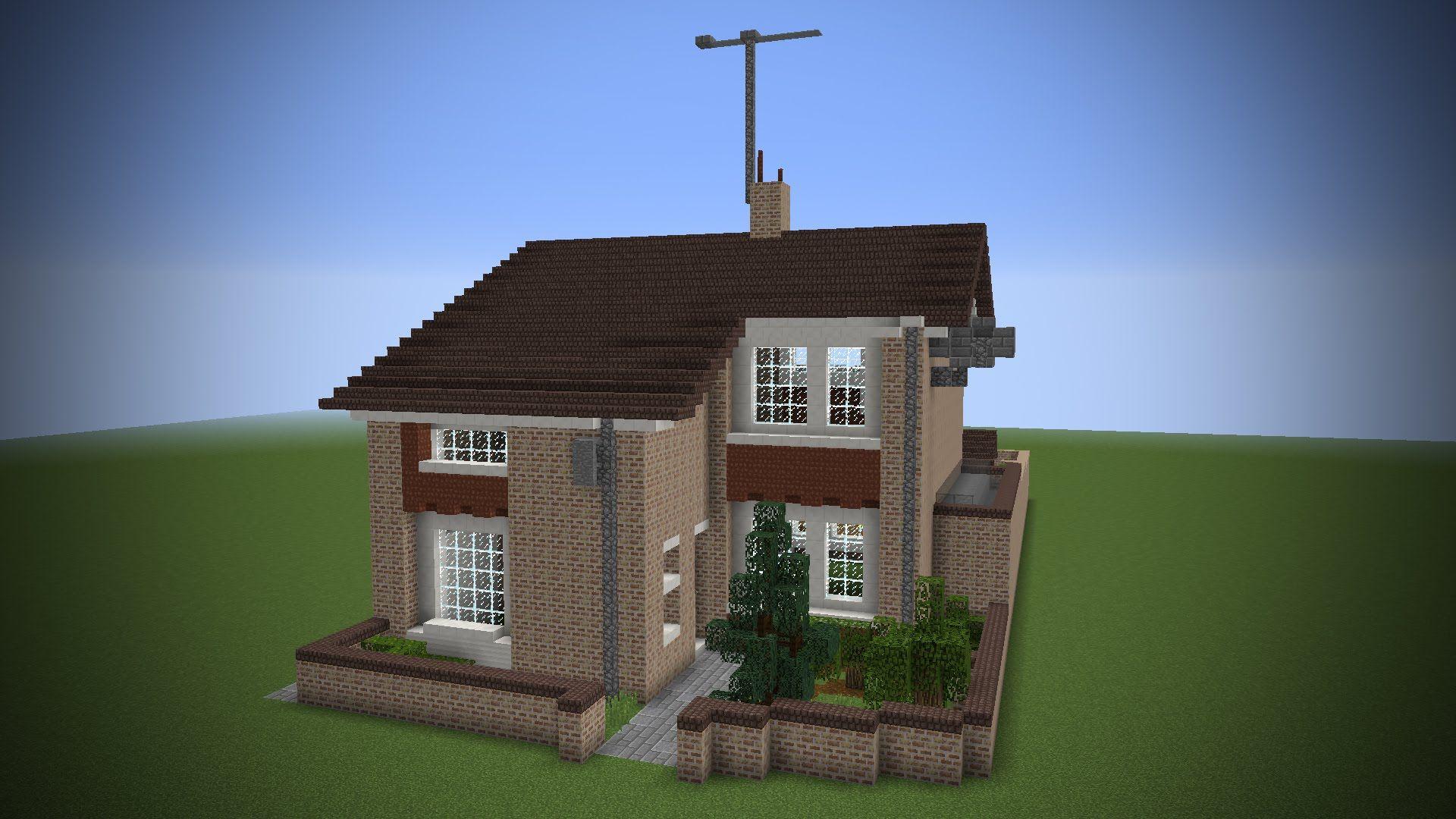майнкрафт небольшой дом #9