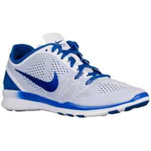 Nike Free 5.0 TR Fit 5 - Women's - White/Game Royal · Athletic ShoesGamingCross  Training ...