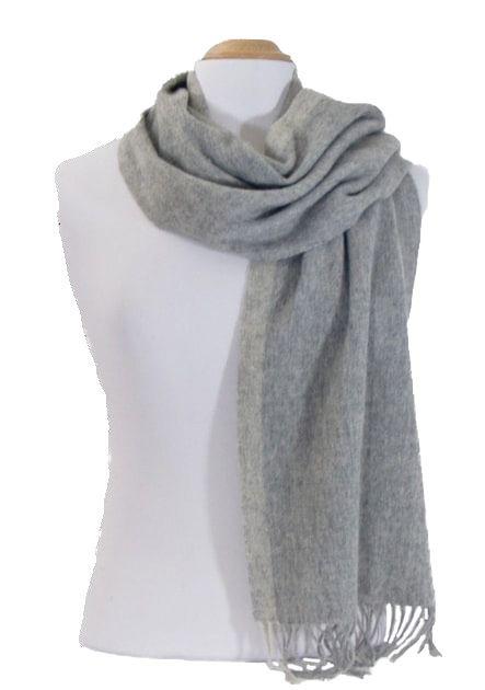 echarpe laine tissee gris rayure   Echarpes laine   Pinterest c8d9776530c