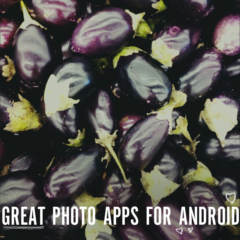 Great photo apps for android