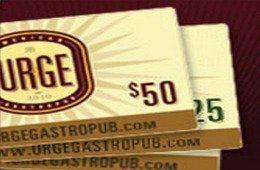 Urge American Gastropub  Rancho Bernardo Gift Card