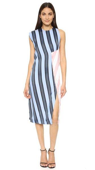 Acne Studios Catlin Stripe Dress