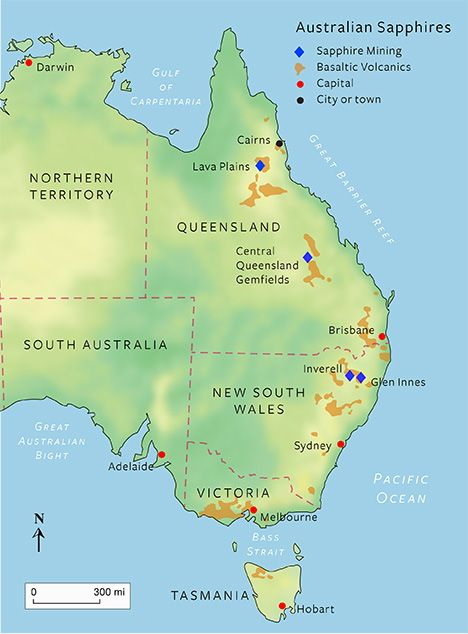 Map of three main sapphire mining fields in Australia ... Map Sapphire Mined In Australia on media map, ne map, vi map, mind map, eclipse map, metal map, elvis map,