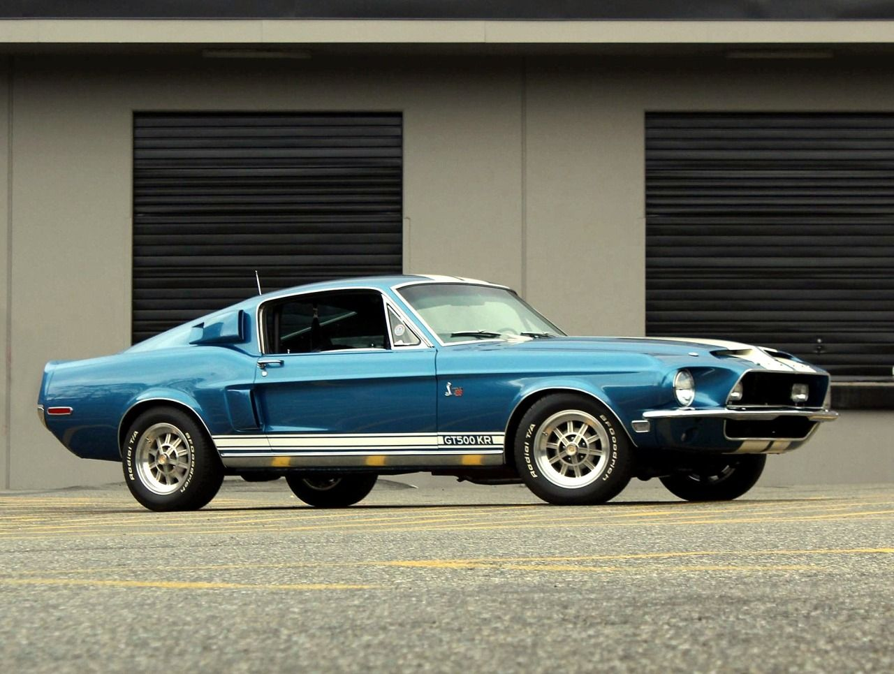 King of the road 1968 shelby mustang 428 gt500kr