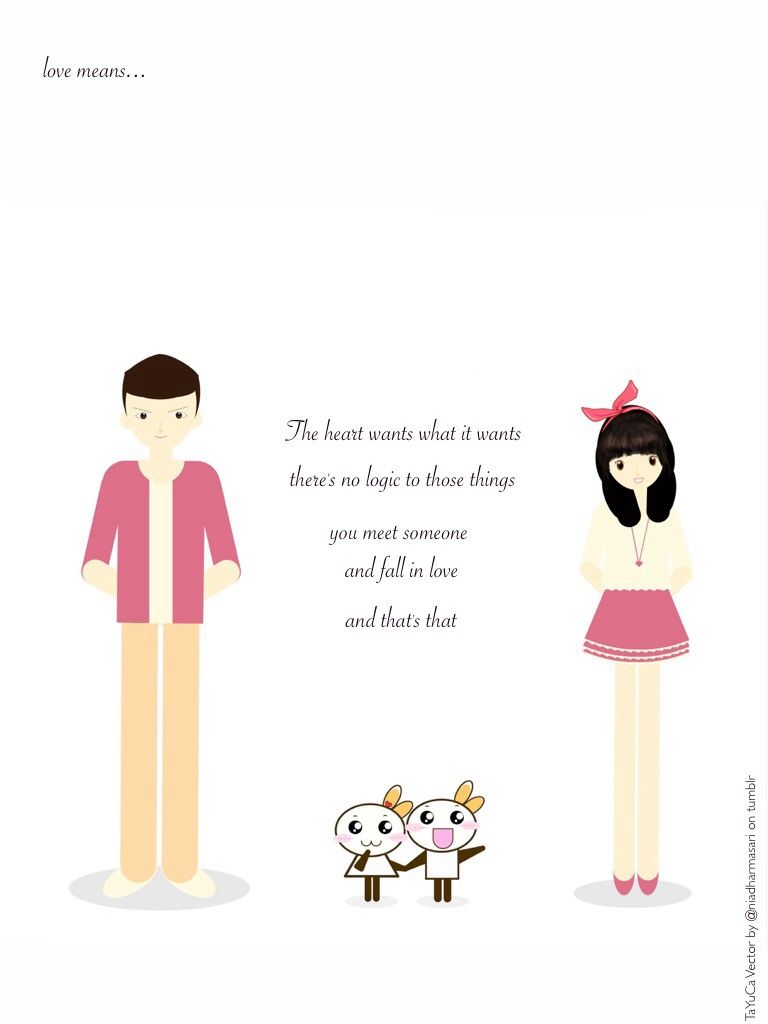 Cute Doodles Love Meansthe Heart Wants What It Wants Love Quote