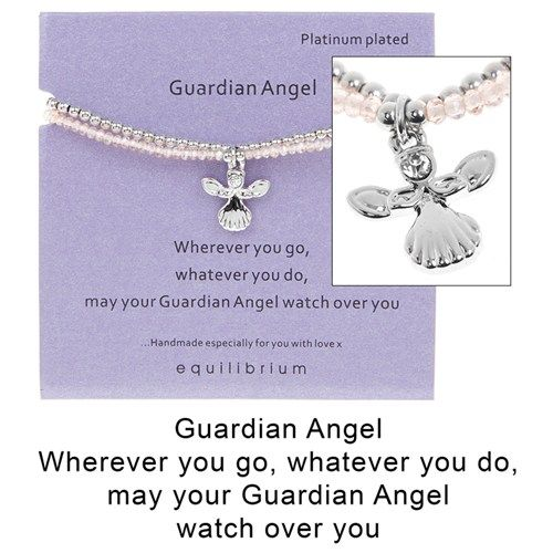 Equilibrium Guardian Angel For Mum Charm Bracelet EEeJ02jFi