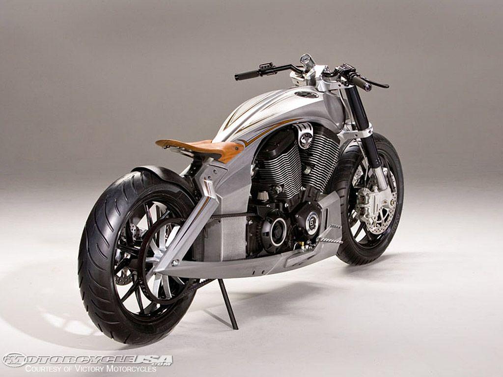Custom Victory Motorcycle