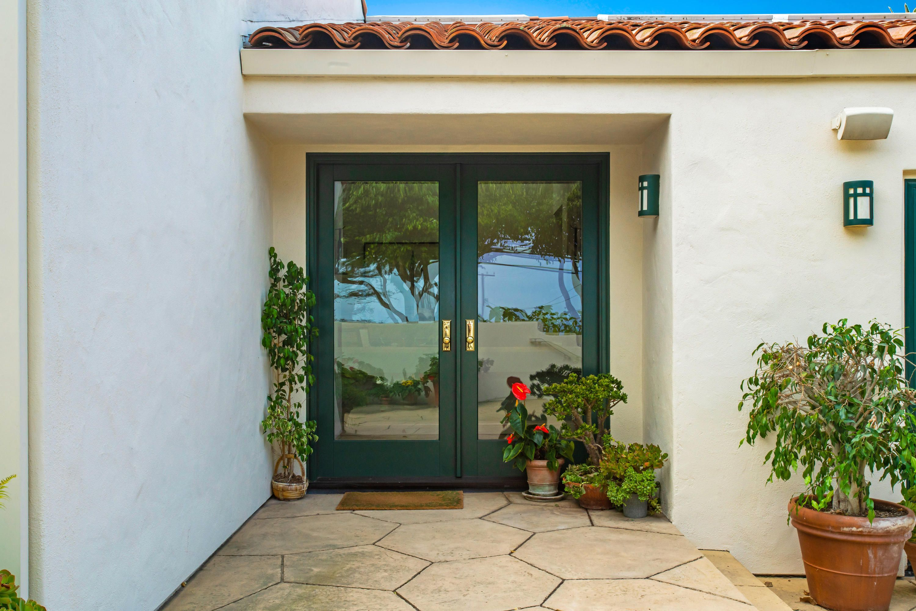Think Green This Newly Listed Home In Santa Barbara Features One