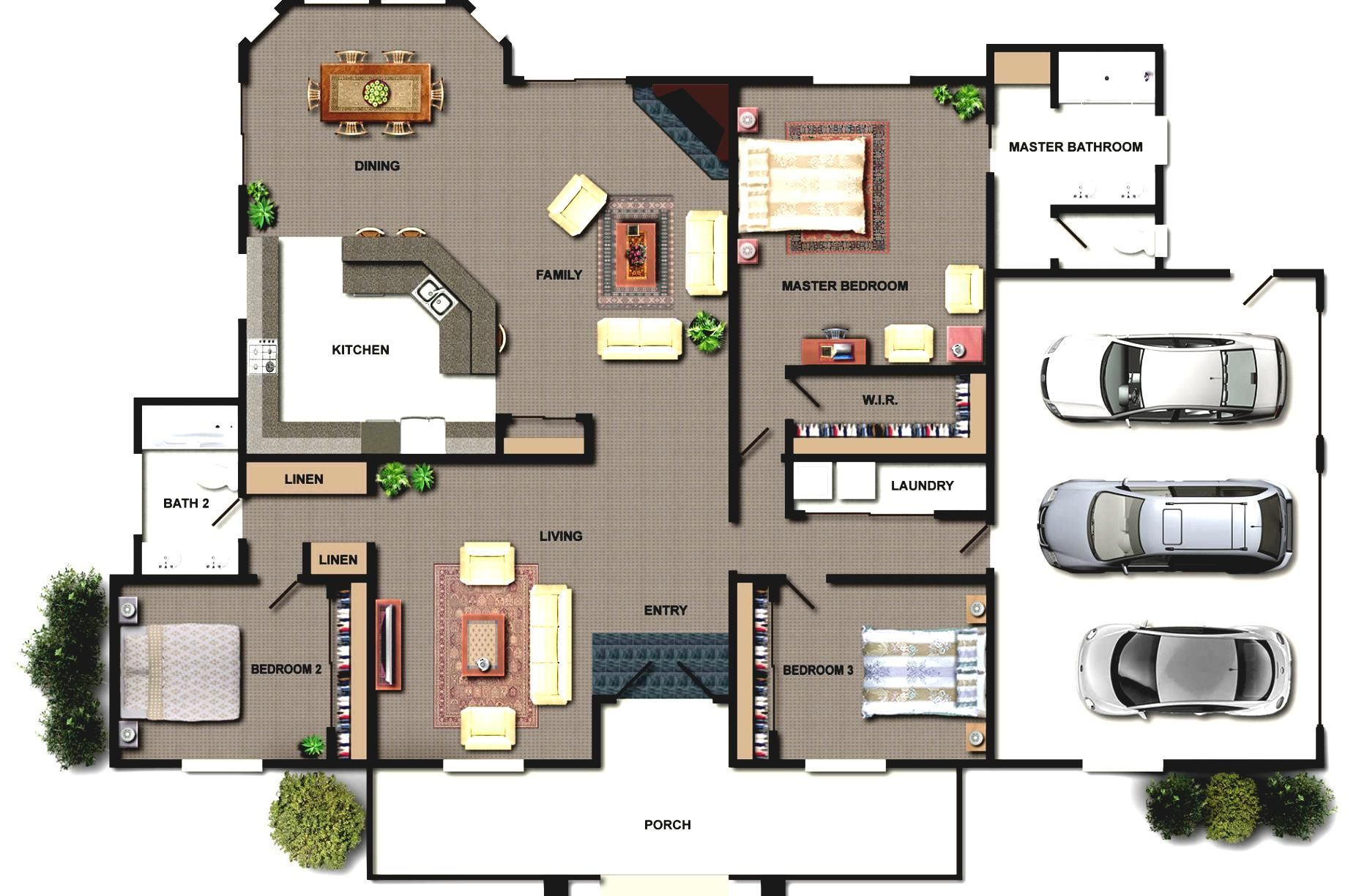 Modern House Design With Layout House Layout Plans Home Building Design House Plans