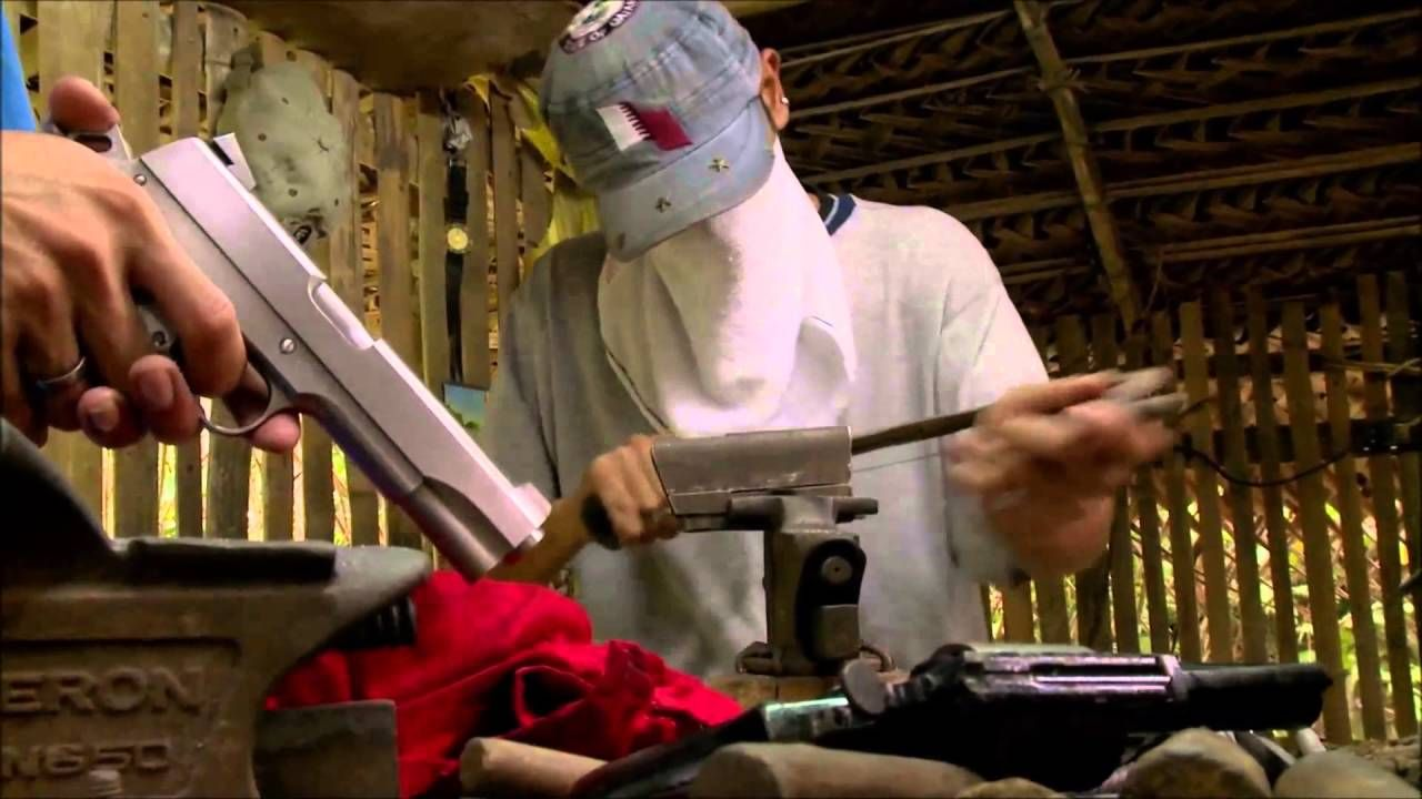 Underworld Inc Illegal Hand Made Colt 1911 Pistols Ghost