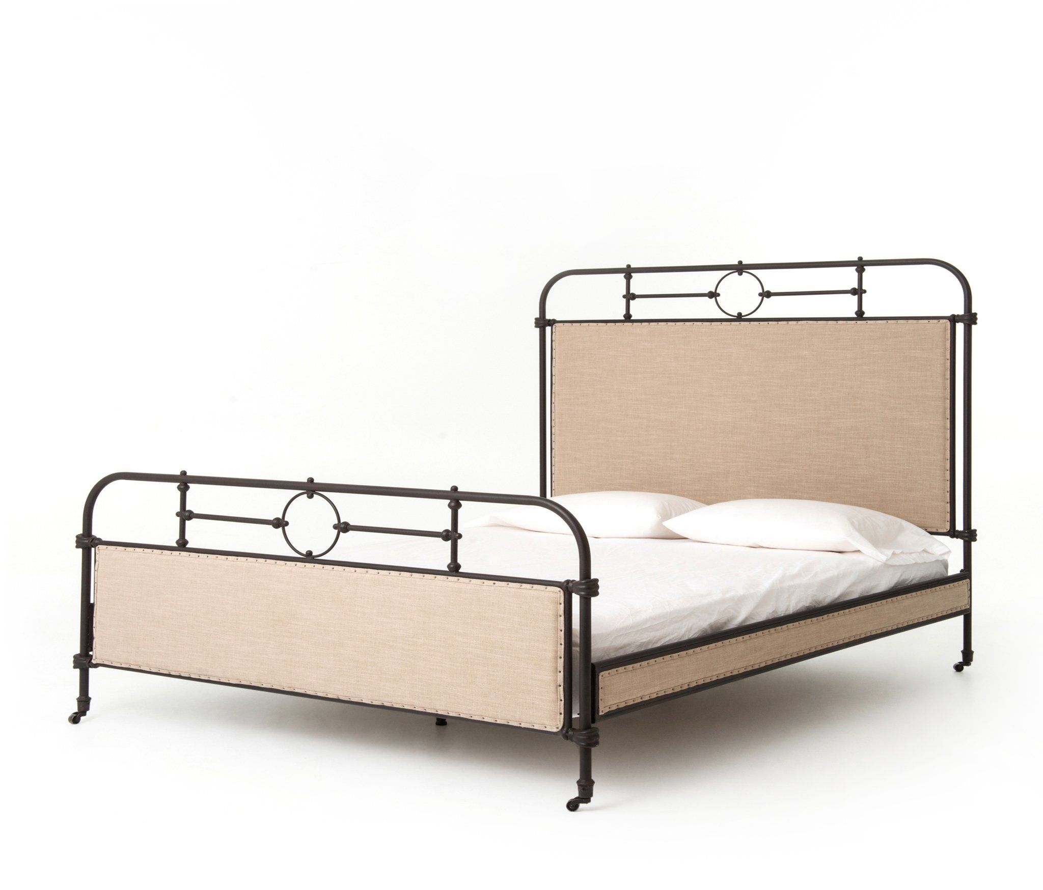 Farmhouse Chic Bed King Iron bed, Metal beds, Bed