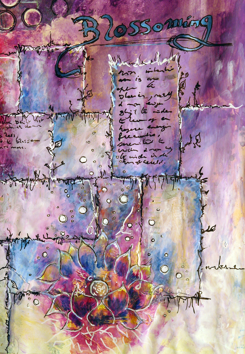 Art journal] Blossoming (Dryada Journals)