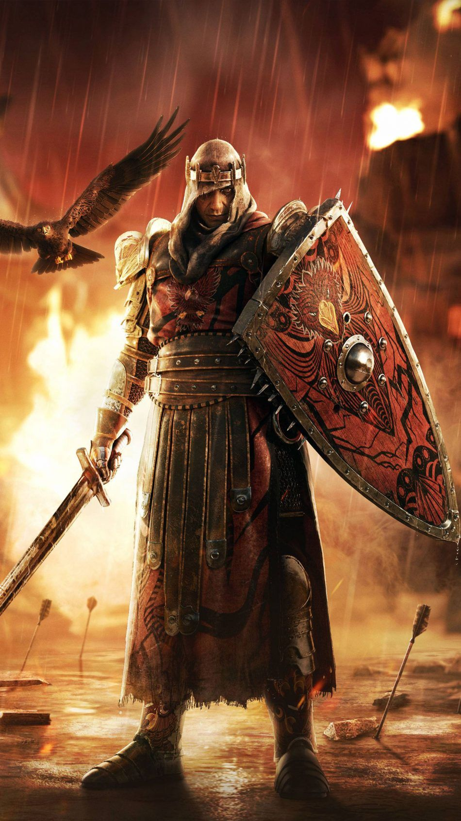 For Honor Game Warrior Sword 4k Ultra Hd Mobile Wallpaper In 2020 For Honor Characters For Honor Armor For Honour Game