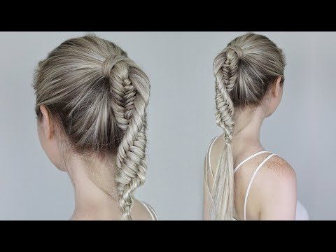 Dna Braid Three Strand Fishtail Braid Spiral Braid Easy