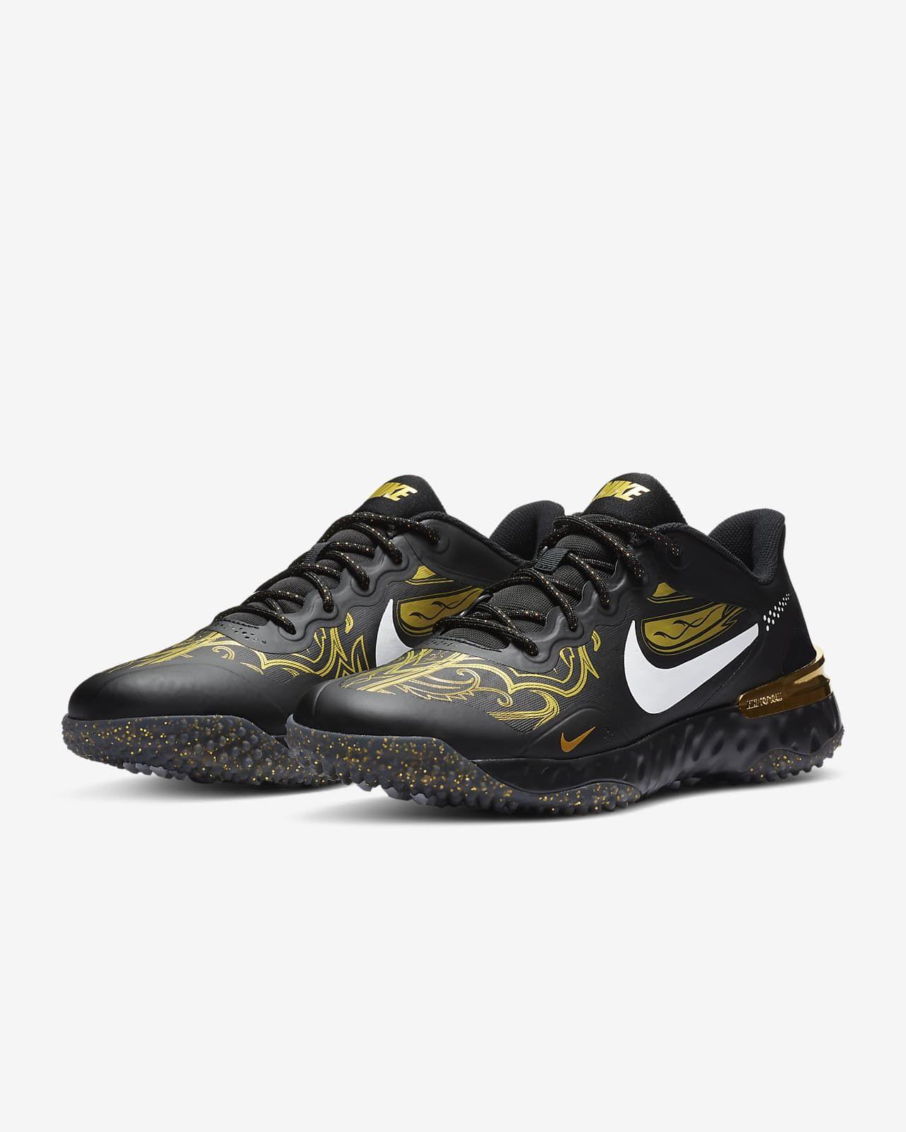 Nike Alpha Huarache Elite 3 Turf Premium Baseball Shoe. Nike.com ...