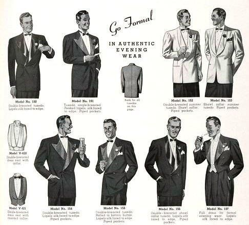 1930s Formal Menswear Vintage Mens Fashion Mens Fashion Classic