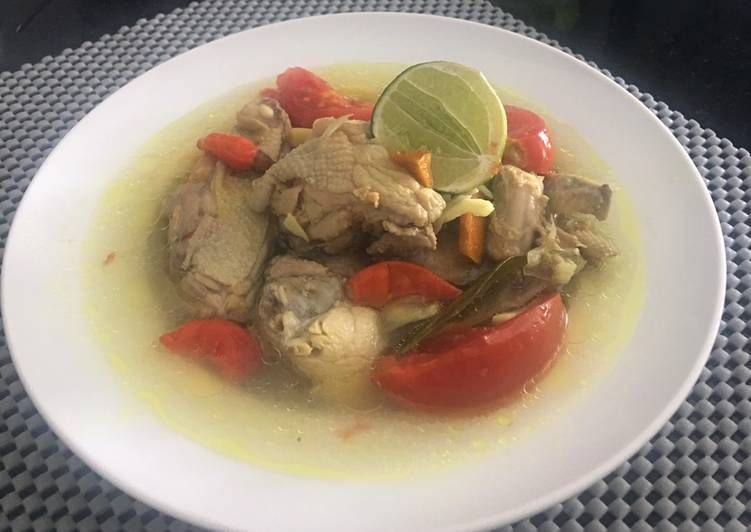 Resep Garang Asem Ayam Tanpa Daun Yang Yummy Makanan Resep Ayam
