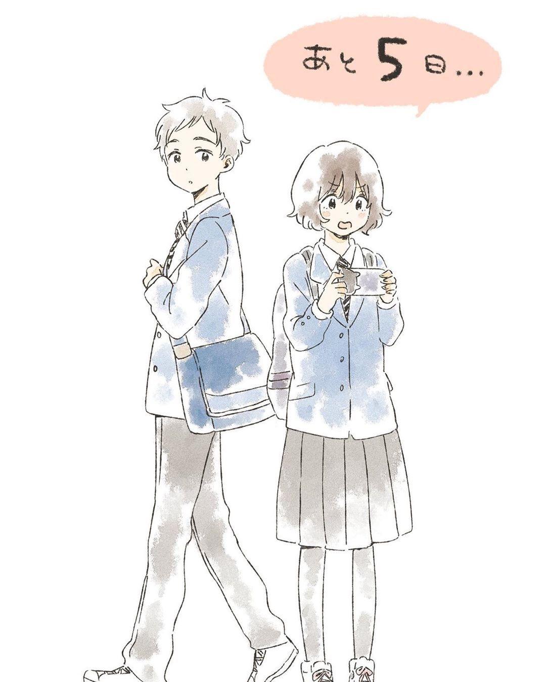 星合の空放送まであと5日… Anime characters, Cute art, Anime art