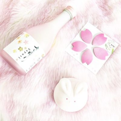 "cinnamocci: ""I got this cute marshmallow bunny squishy & it's perfect for spring 🌸 ig: pink.bun """
