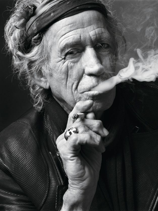 Keith richards pictures passed outin hustler