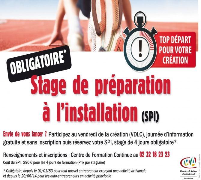 Dispense stage SPI -   aide-creation-entrepriseinfo/Dispense