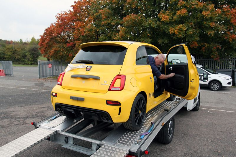Fiat Abarth 595 Competizione Arrives For A New Car Protection