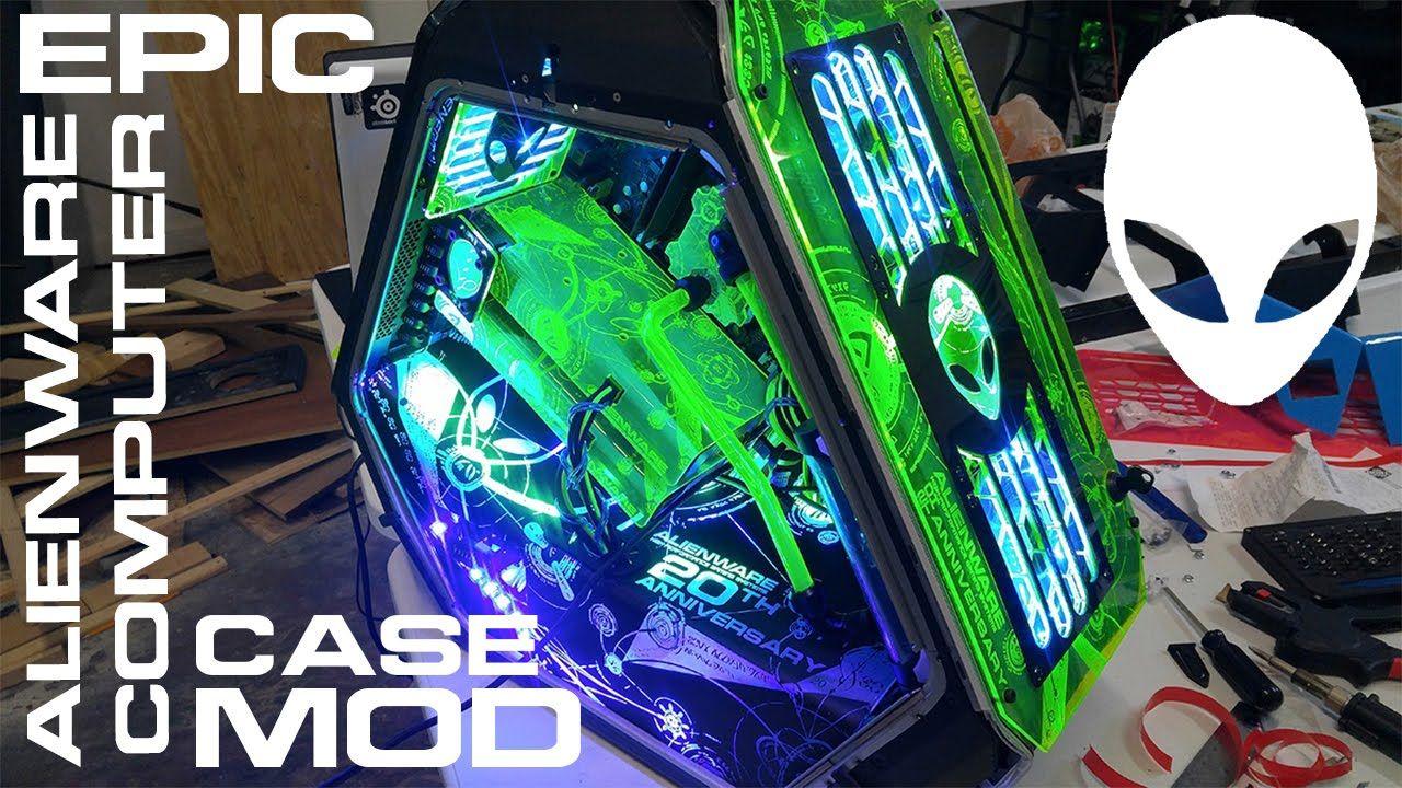 Alienware 20th Anniversary Mod Project By V1 Tech Alienware