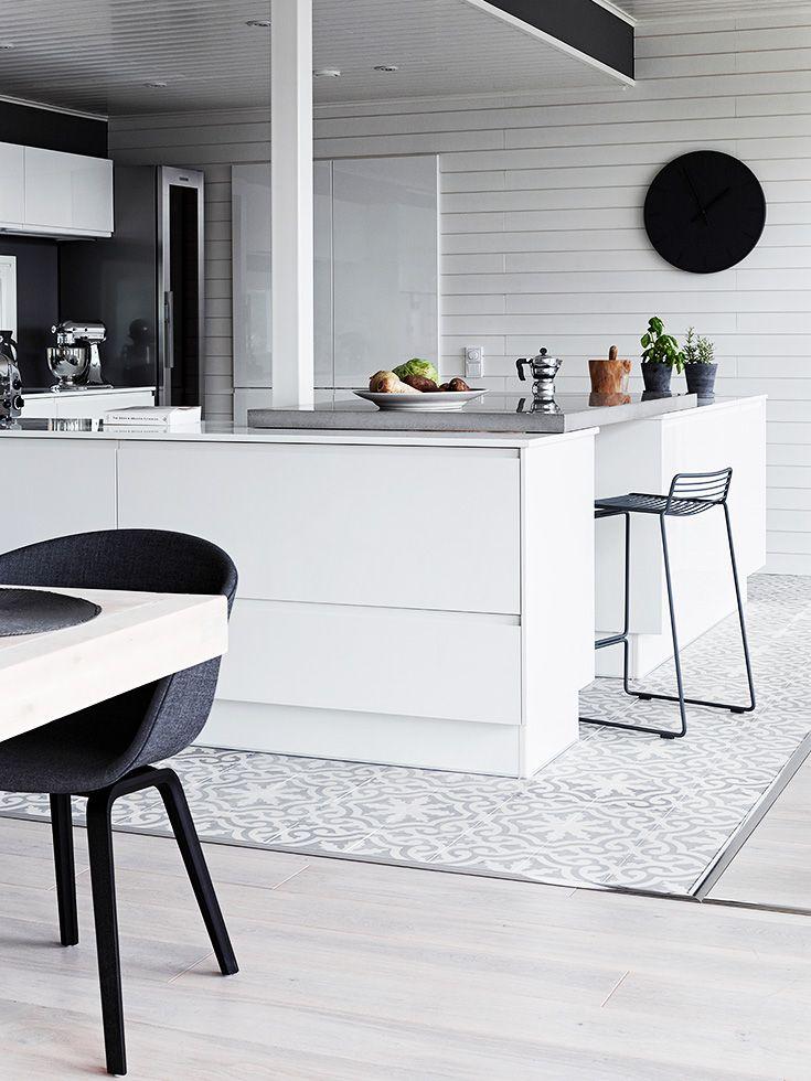 Arredare in bianco e nero i lettori di casafacile for Cucine moderne scure