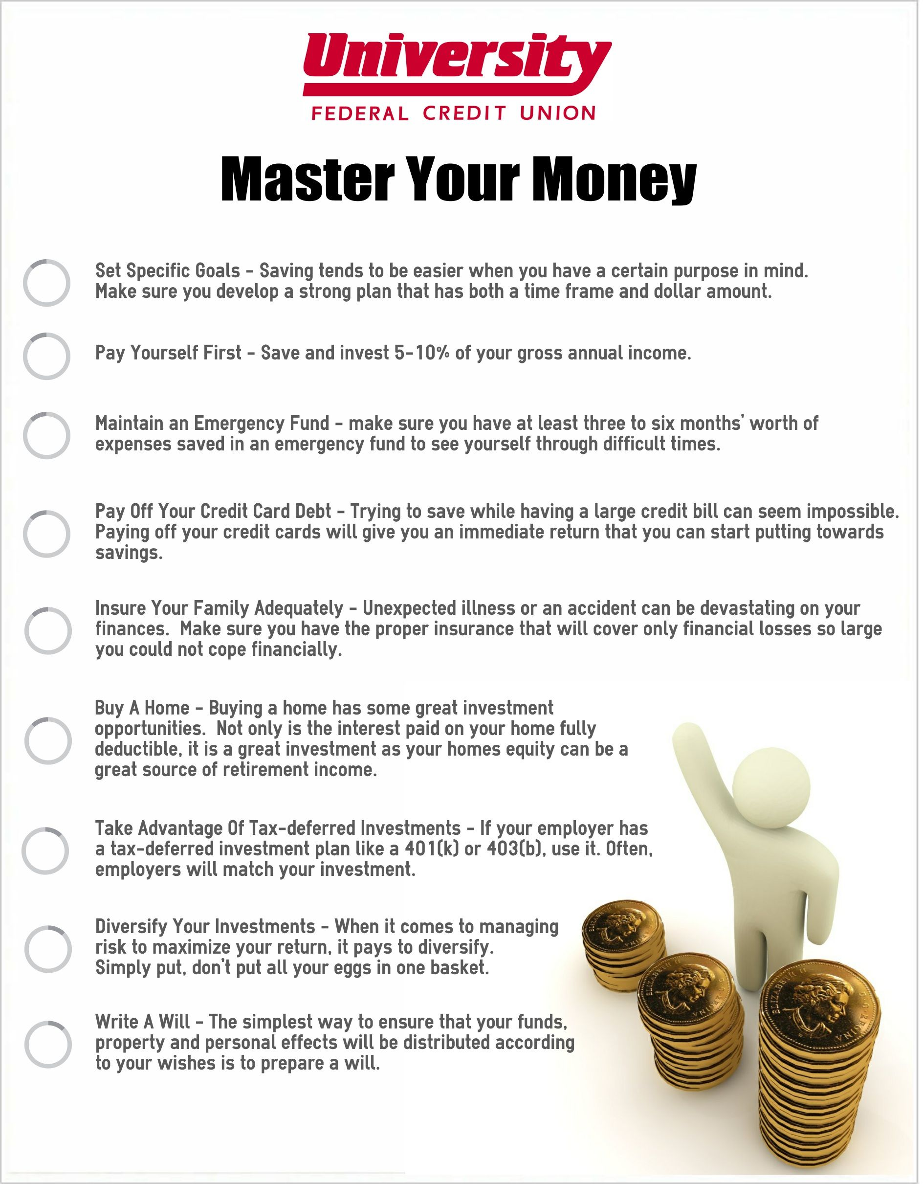 Don't let your money master you! Find out how you can be a