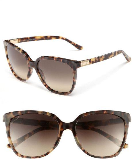 e05a9d3ba6f9 Gucci Animal Print Sunglasses SS-2015 #SexySunnies #GucciAccesories ...
