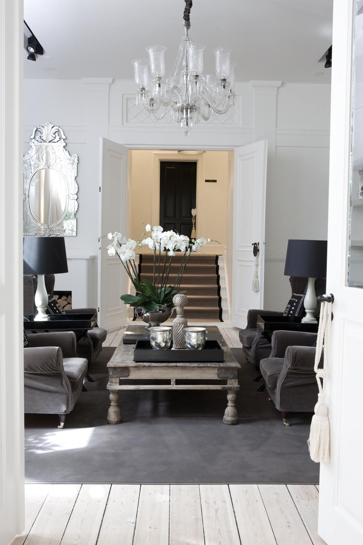 By malene birger hq copenhagen denmark  love that the staircase can be closed off if wanted also rh pinterest