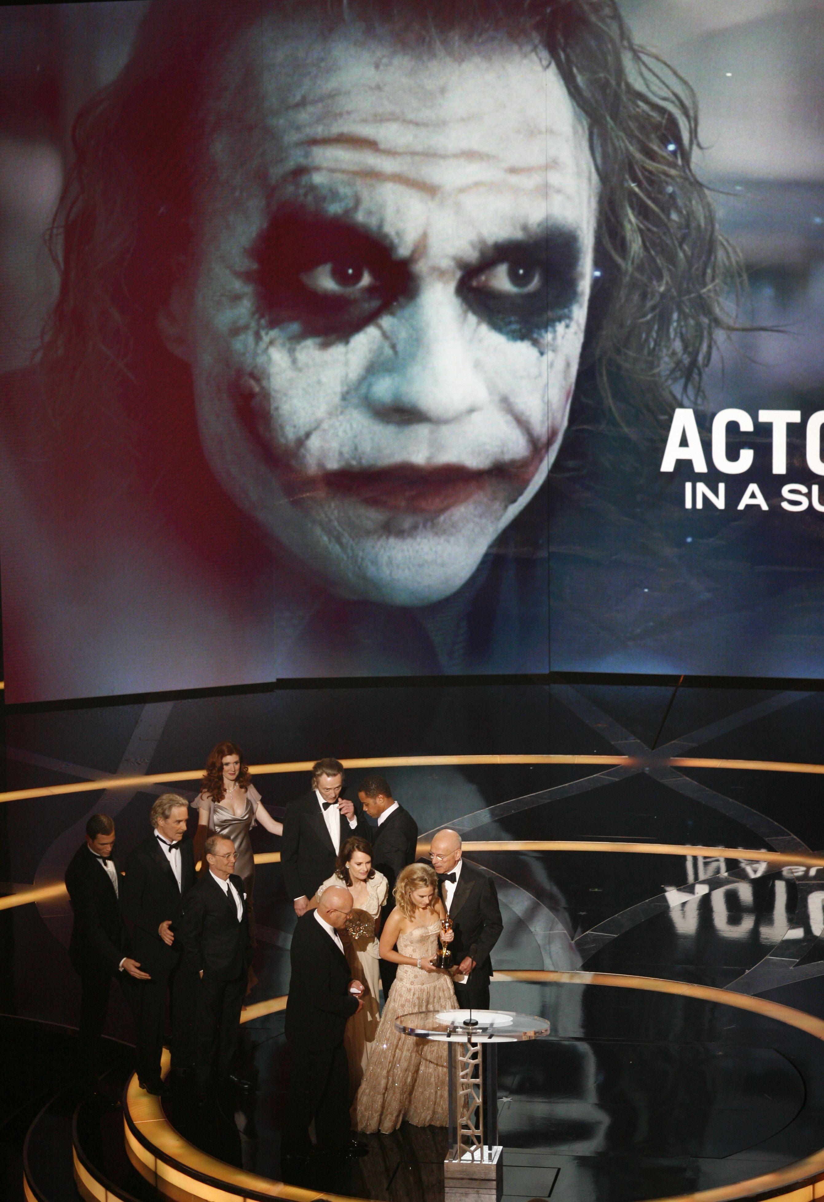 Heath Ledger Oscar