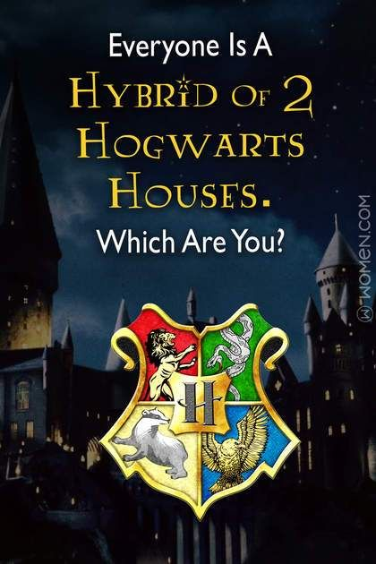 Quiz: Everyone Is A Hybrid Of Two Hogwarts Houses. Which Are You? (With images) | Hogwarts quiz. Hogwarts houses. Harry potter quiz