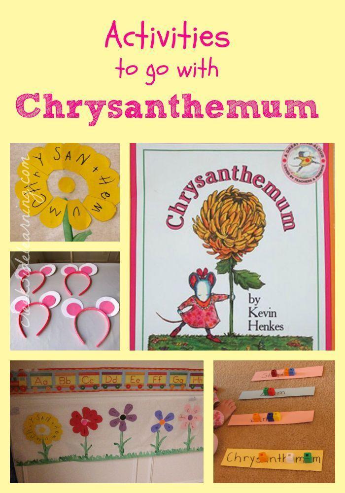 Chrysanthemum Activities | Pre-K: literacy | Chrysanthemum
