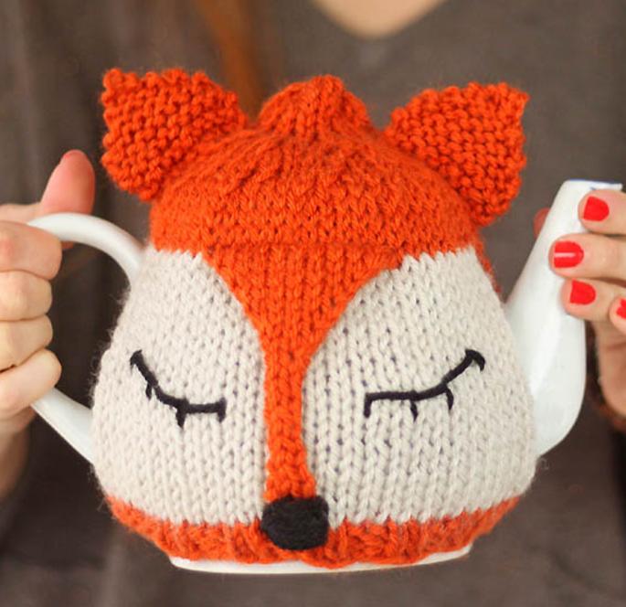 Sleepy Fox Tea Cozy Pattern Tea Cozy Cozy And Foxes