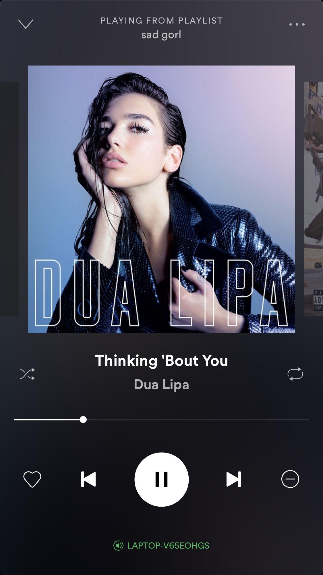 dualipa inmyfeelings Love songs