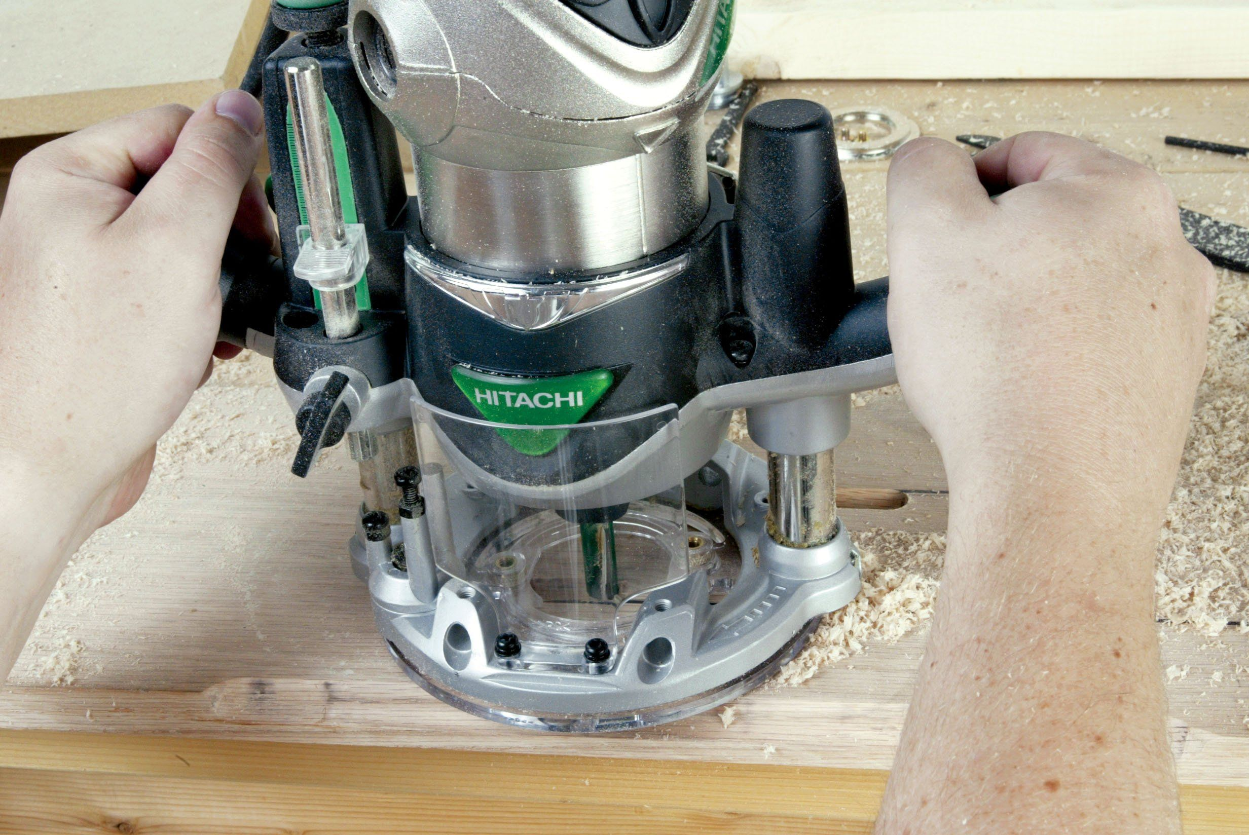 Hitachi Km12vc 21 4 Peak Hp Variable Speed Fixed Plunge Base Router Kit See This Great Item This Is An Affiliate Link Best Router Router Woodworking Tools