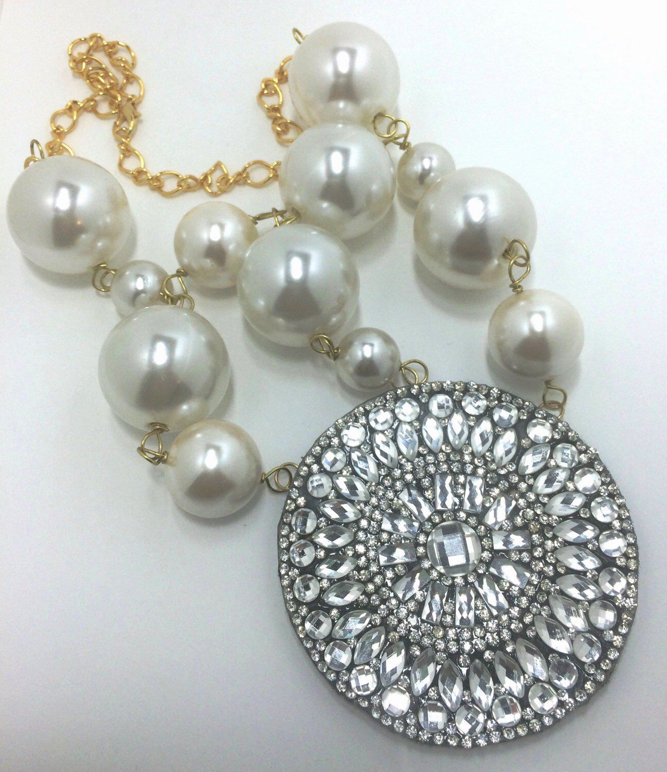A personal favorite from my Etsy shop https://www.etsy.com/listing/246396204/pearls-and-fireworks