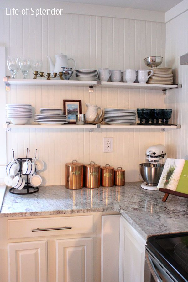 Best White Kitchen Copper Canisters Copper Kitchen 400 x 300