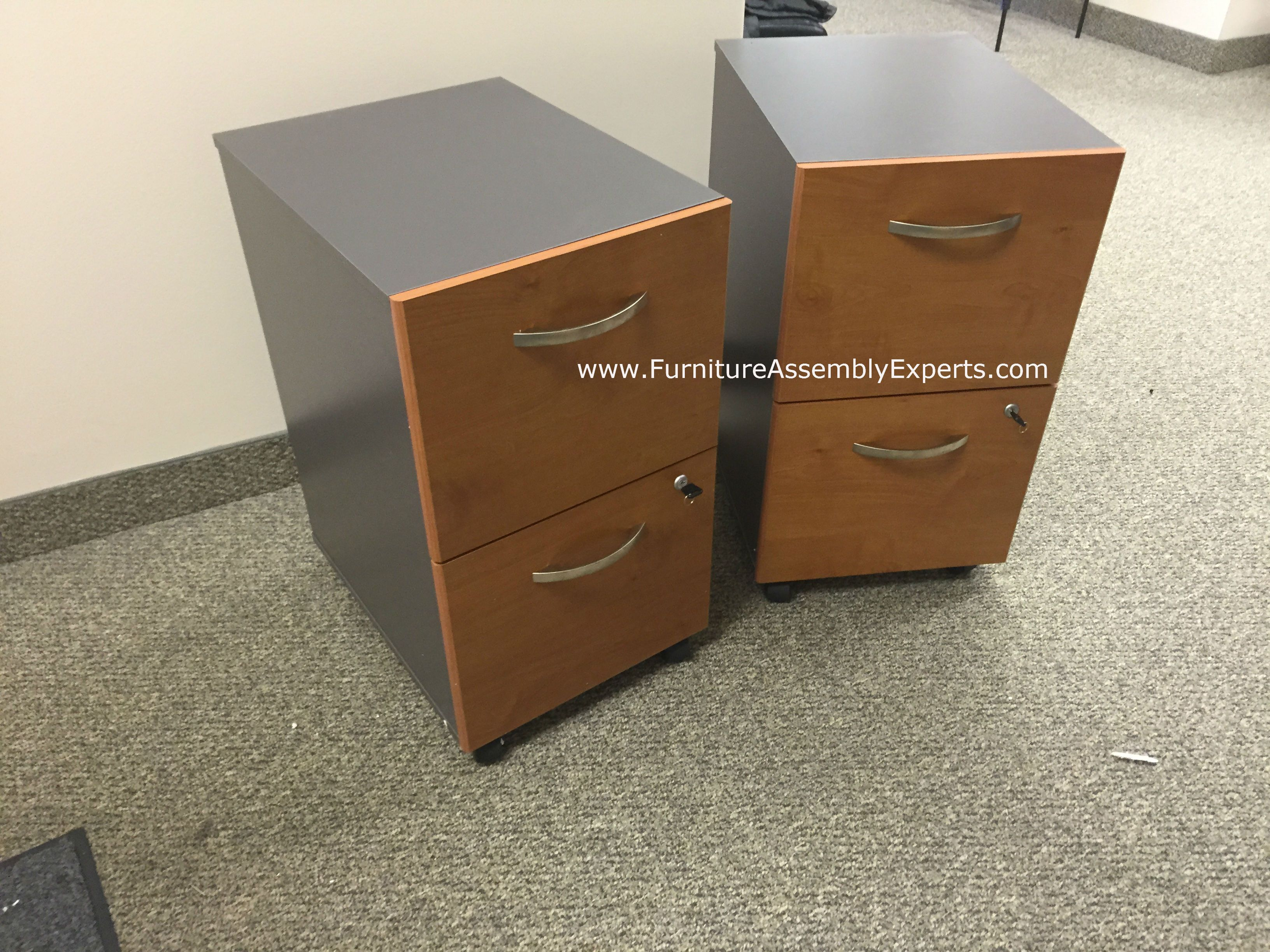 Staples Office 2 Drawers File Cabinet
