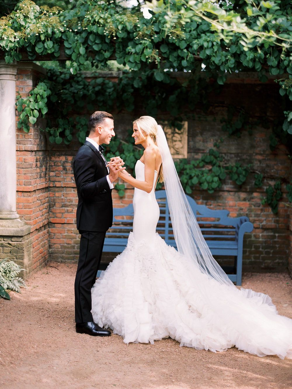 Elegant Garden Wedding at the Chicago Botanic Garden