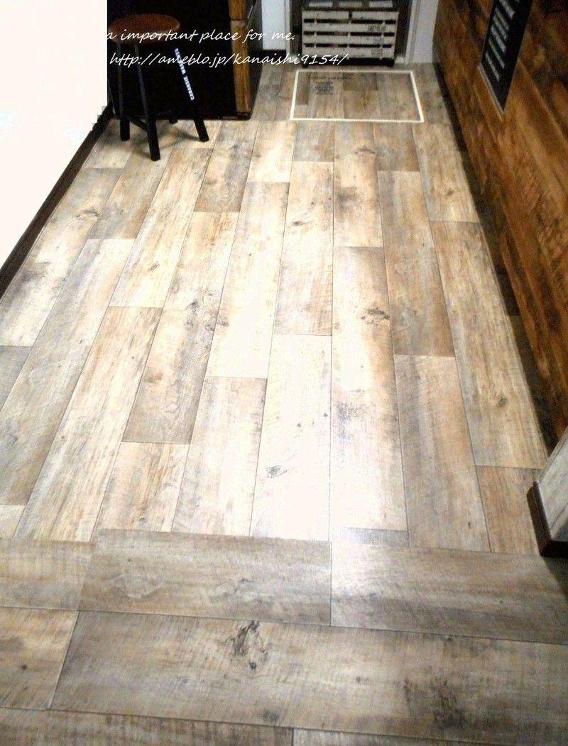 クッションフロアdiy 床下収納庫はこの方法で フロア クッションフロア Diy キッチン Diy