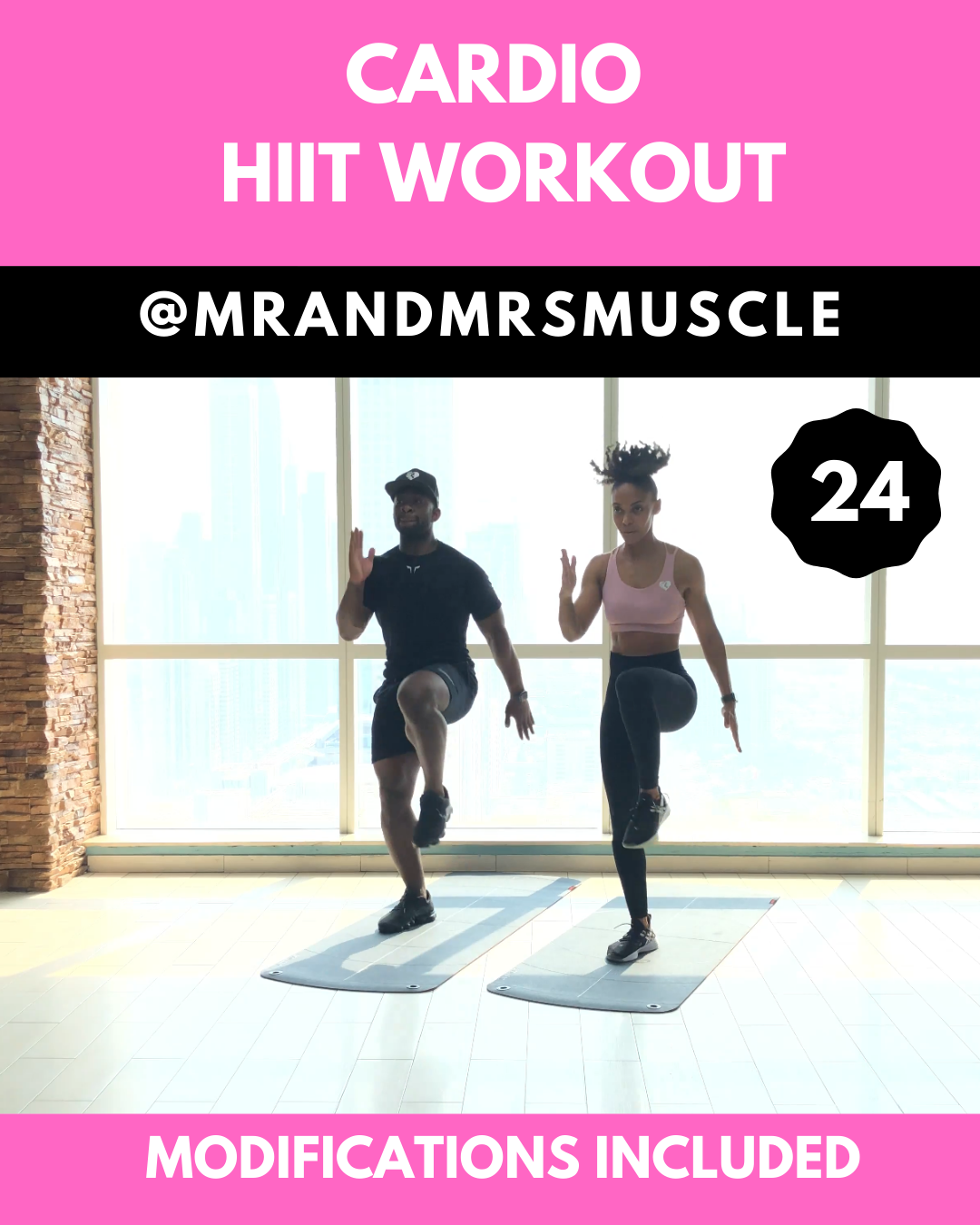Cardio Workout - HIIT at Home or Gym #cardioyoga