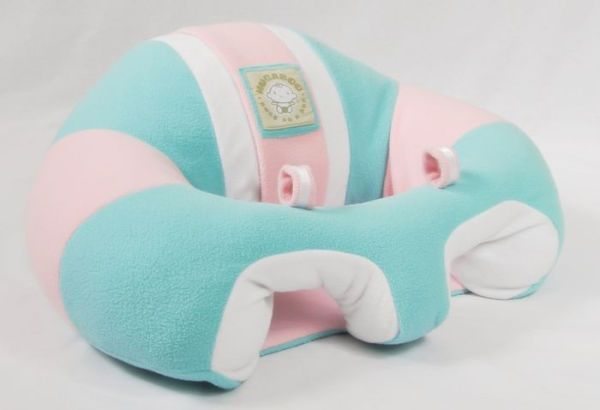 Hugaboo Infant Support Seat Fleece - Cotton Candy, Pink n Aqua 00407